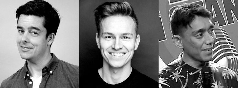 Comedy Zoo Klubaften m. Michael Schøt, Per Sodemann & Johnny Robertson
